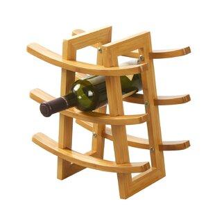 Harless 9 Bottle Tabletop Wine Rack By Symple Stuff