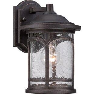 Portland 1 Light Outdoor Wall Lantern Image