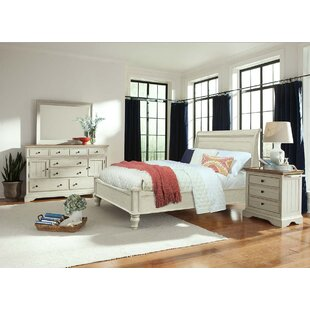 Allgood Sleigh Bed