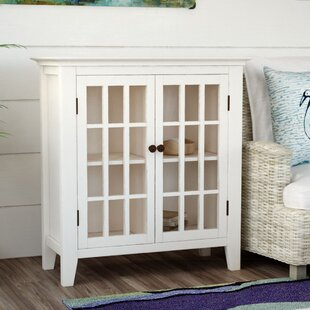 Read Reviews Naples Park Antique Double Door Accent Cabinet By Beachcrest Home