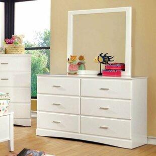 Segars 6 Drawer Double Dresser