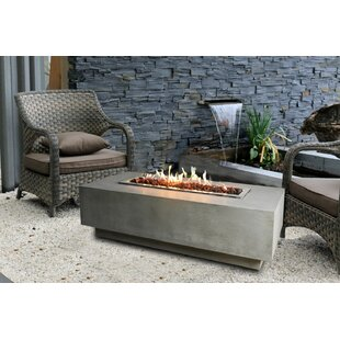 Homestyle Collection Granville Concrete Fire Pit Table