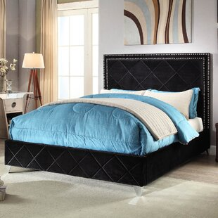 Everly Quinn Jefferson Upholstered Platform Bed