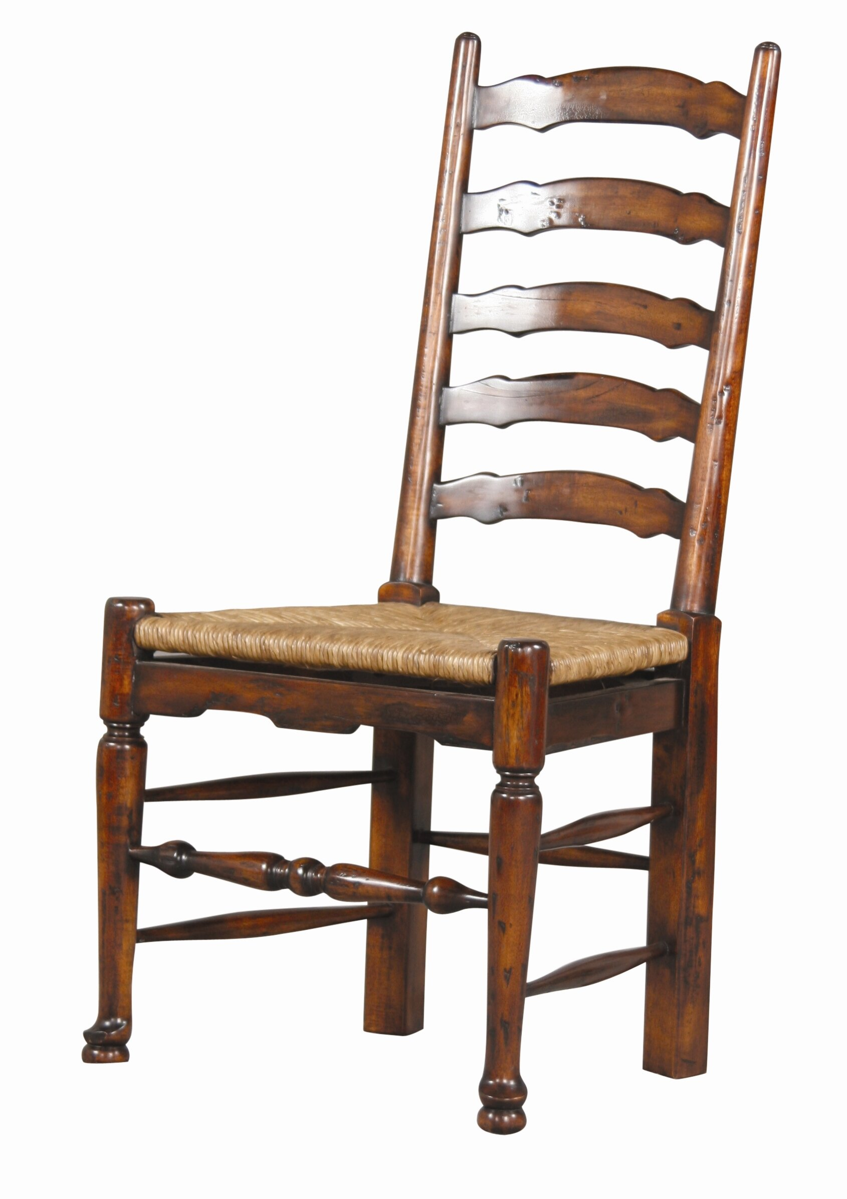 Furniture Classics English Country Solid Wood Ladder Back Side Chair Reviews Wayfair