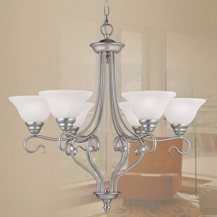 Darby Home Co Lewisboro 6-Light Shaded Chandelier