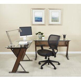 Wrought Studio Caison L-Shape Desk
