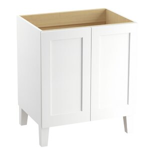 Poplin Tones 30 Vanity with Furniture Legs and 2 Doors by Kohler