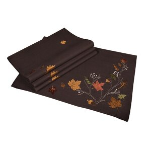Dresden Branches Embroidered Fall Placemat (Set of 4)