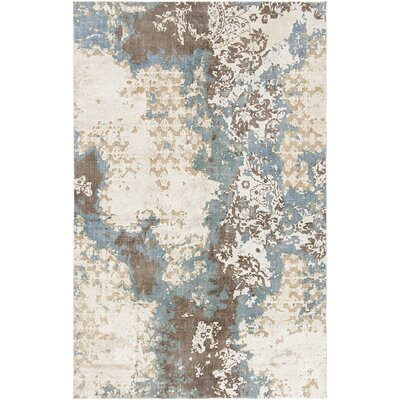 Bungalow Rose Rodericks Hand-Knotted Wool Area Rug Rug Size: 9' x 13'