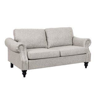 Shop Athey Microfiber Standard Loveseat by Canora Grey