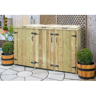 Review Wooden Single Bin Store