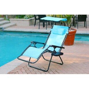Gillen Folding Zero Gravity Chair by Ebern Designs