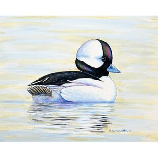 Bufflehead Duck 18 Placemat (Set of 4) by Betsy Drake Interiors