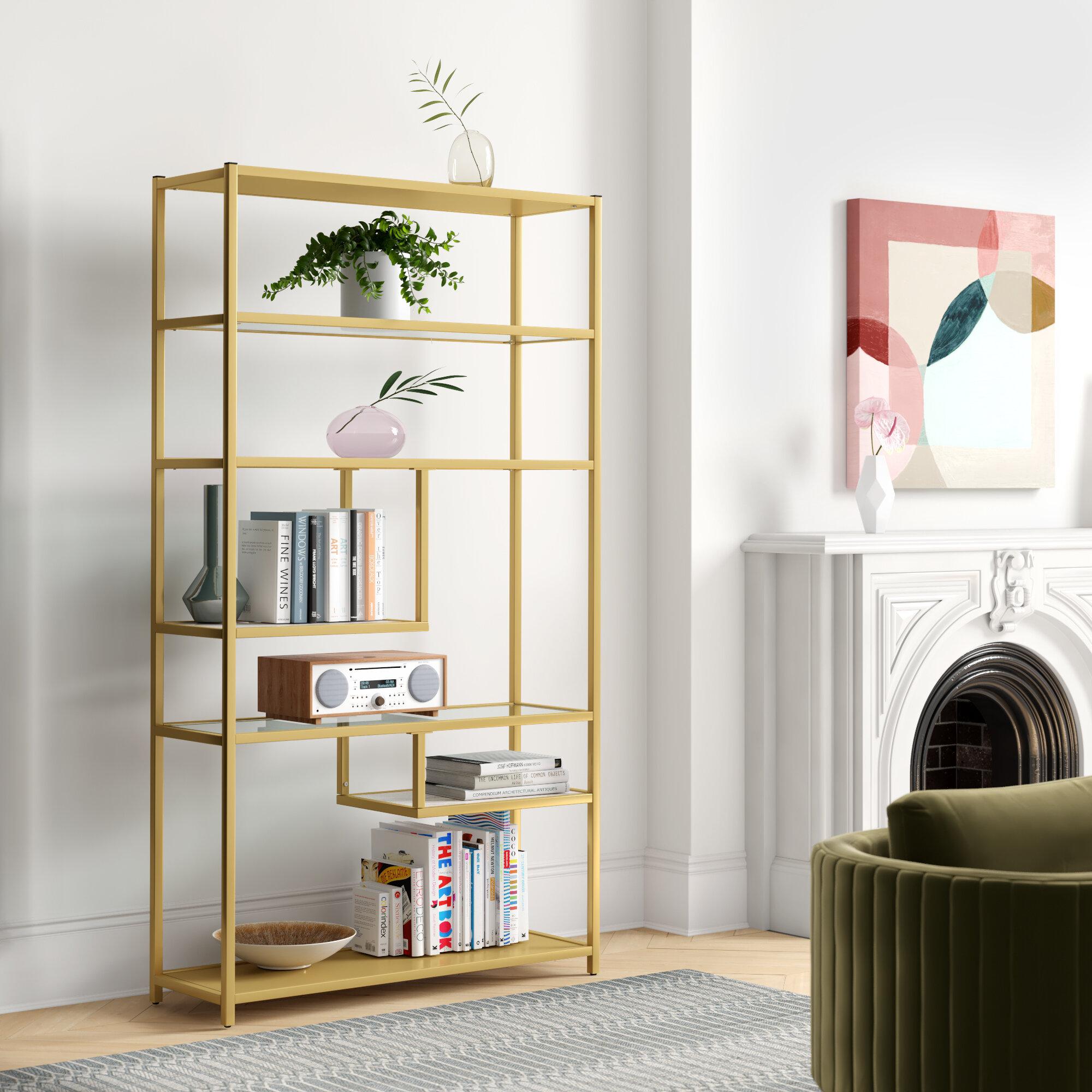 Foundstone Kit Geometric Bookcase