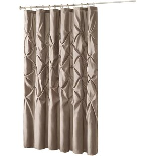 Ivory Cream Ruffled Shower Curtains Youll Love