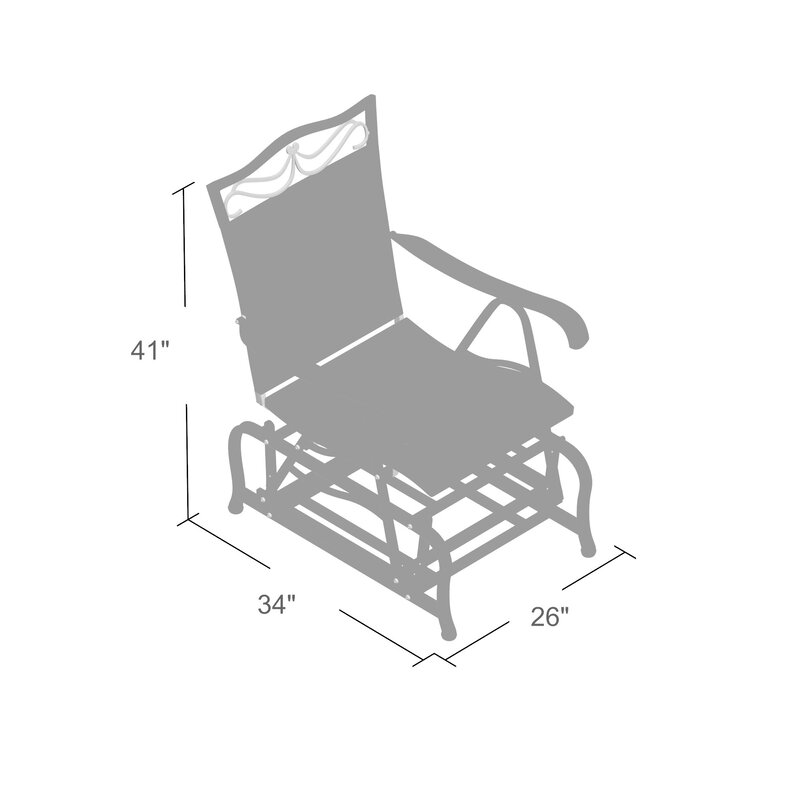 Meetinghouse Single Glider Chair