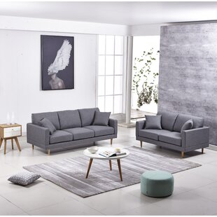 George Oliver Rodney 3 Piece Living Room Set (Set of 3)