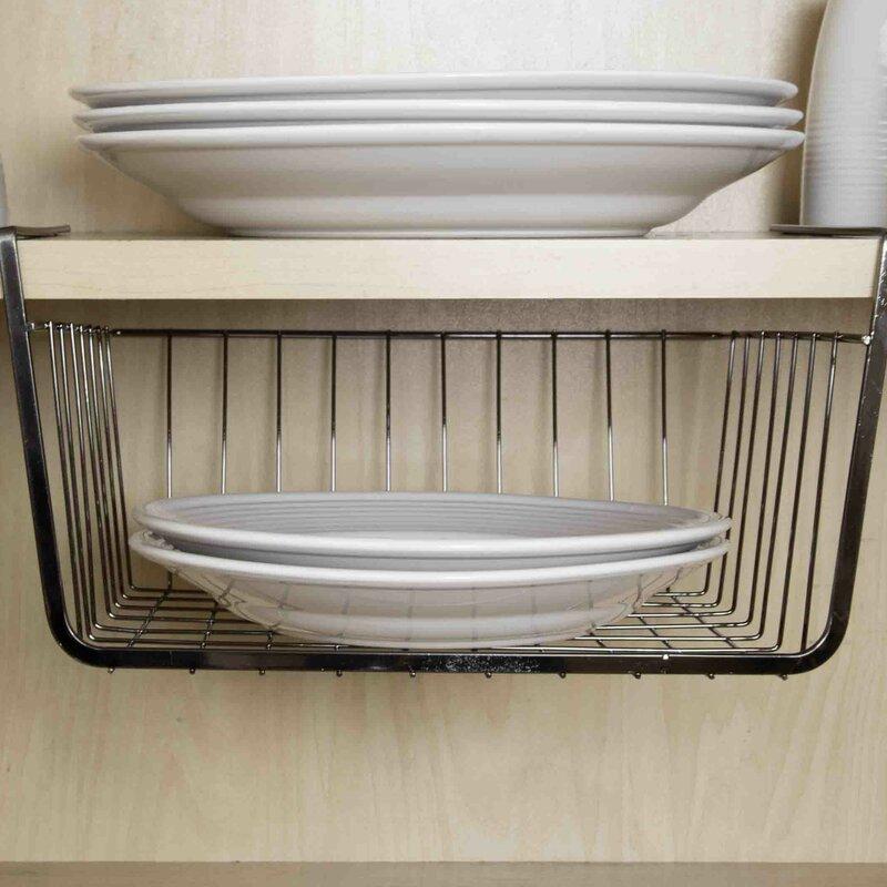 Wayfair Basics Under Shelf Basket