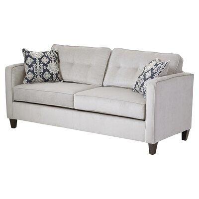 Ebern Designs Dengler Standard Sofa Upholstery: Elizabeth Silver/Mali Denim