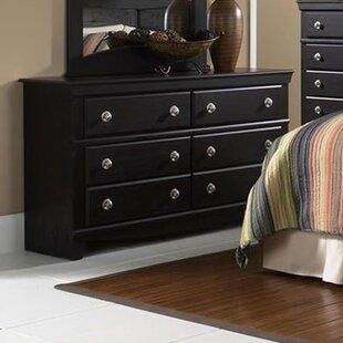 Fralick 6 Drawer Double Dresser by Winston Porter