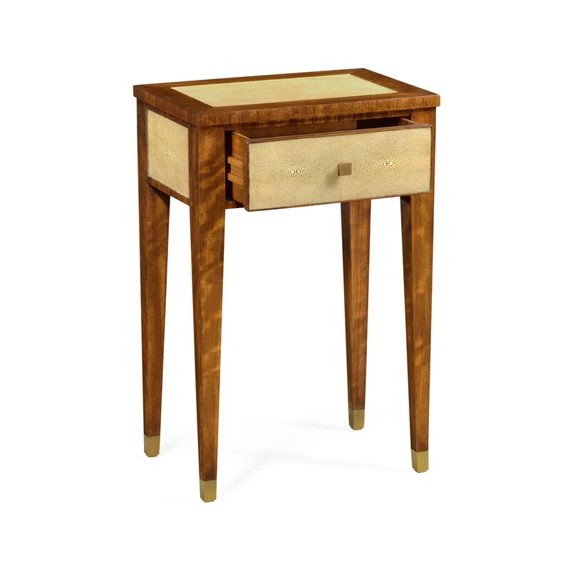 Jonathan Charles Fine Furniture Bayswater End Table With Storage Wayfair