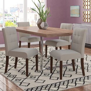 Reviews Isidora Upholstered Dining Chair (Set of 4) by Brayden Studio Reviews (2019) & Buyer's Guide