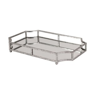 Silver Decorative Trays You\'ll Love | Wayfair