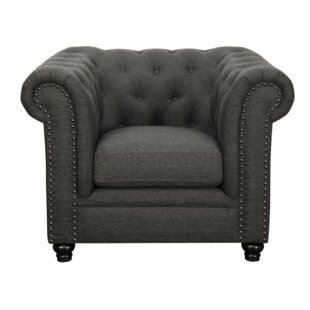 Orford Chesterfield Chair by Alcott Hill