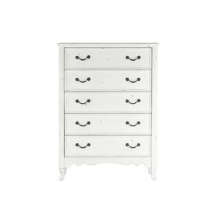 Zeke 5 Drawer Chest by One Allium Way
