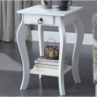 Gold End Table by Charlton..