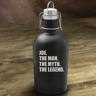 The Man/The Myth/The Legend 64 Oz. Beer Growler