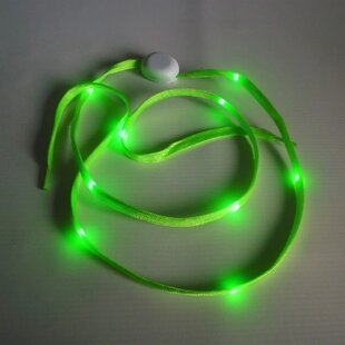 Green Shoelaces Rope Lights (Set Of 2) By The Seasonal Aisle