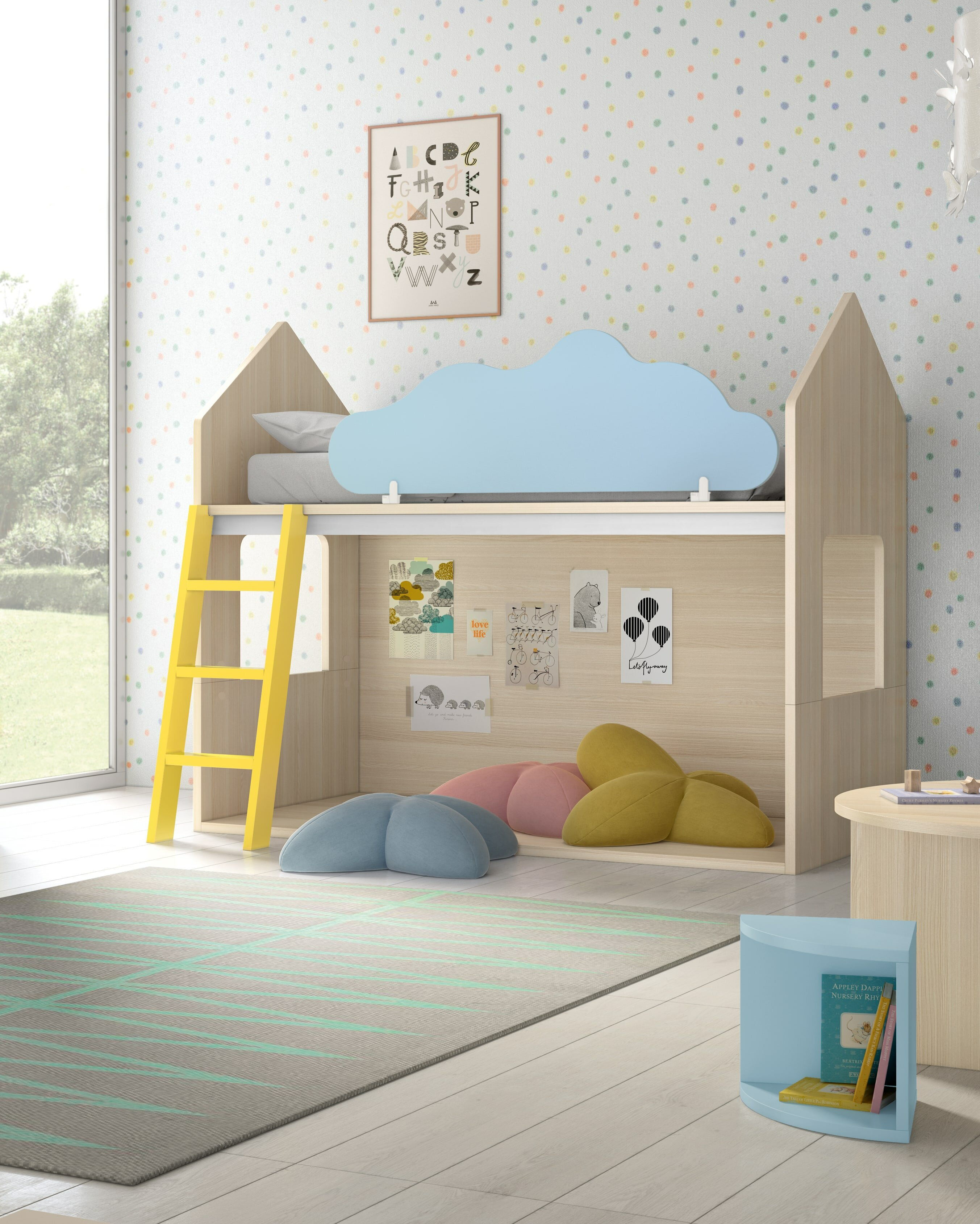 All Home Fantasy House Bunk Bed Wayfair Co Uk