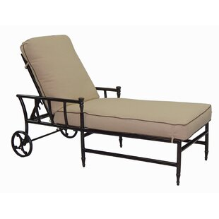 Leona Provence Chaise Lounge with Cushion