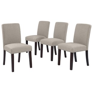 Berghout Upholstered Dining Chair (Set of 4)