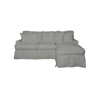 Laurel Foundry Modern Farmhouse Telluride T-Cushion Sofa Slipcover