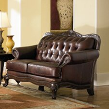 Darby Home Co Smith Leather Loveseat