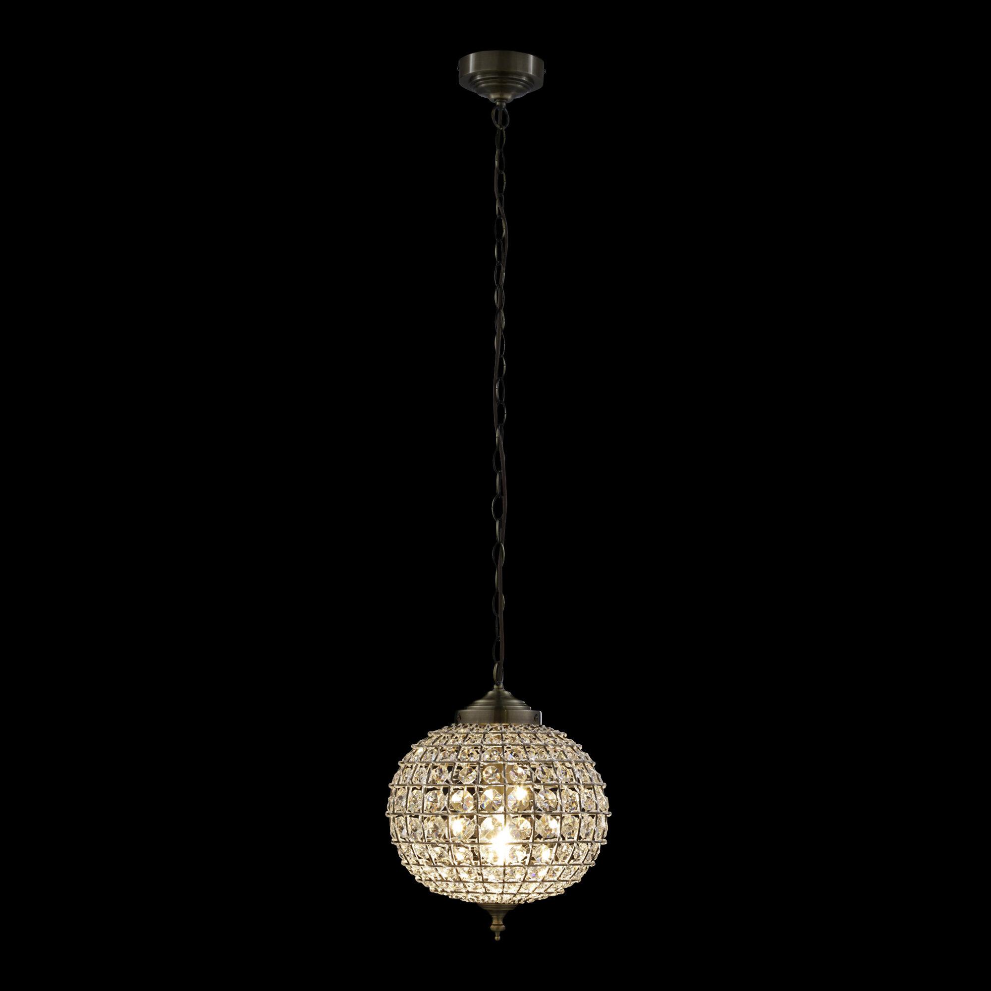 Picture of: Three Posts Barton 1 Light Globe Pendant Reviews