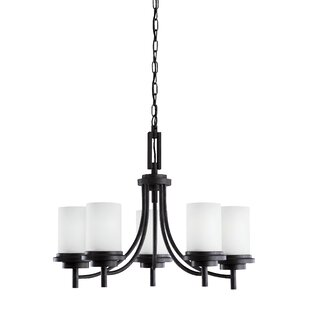 Three Posts Dashiell 5-Light Shaded Chandelier