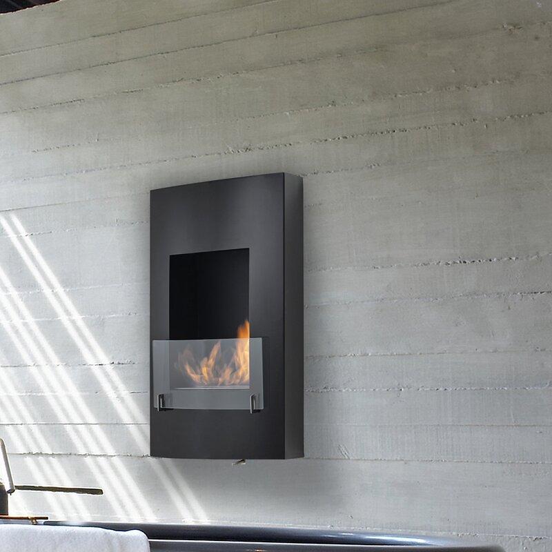 Hollywood Wall Mounted Ethanol Fireplace