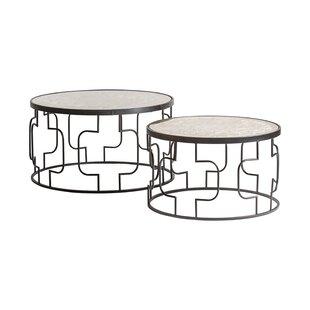 Fogel 2 Piece Coffee Table Set By Bloomsbury Market