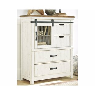 Gracie Oaks Bromsgrove 4 Drawer Chest