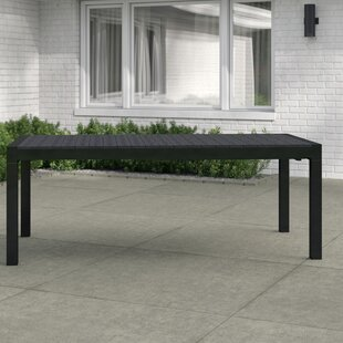 Mathers Extendable Aluminium Dining Table By Sol 72 Outdoor