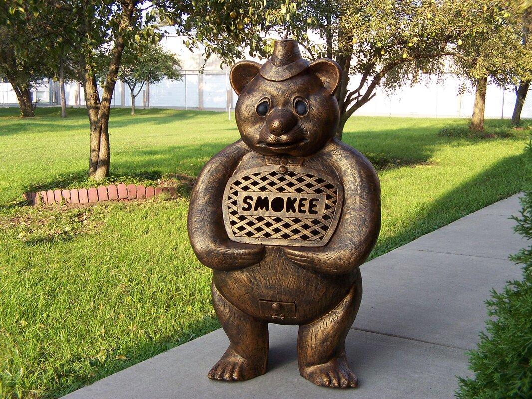 Smokee Bear Aluminum Wood Burning Chiminea