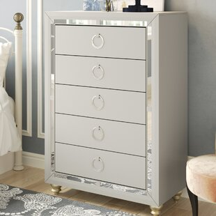 Rosaline 5 Drawer Chest by Rosdorf Park