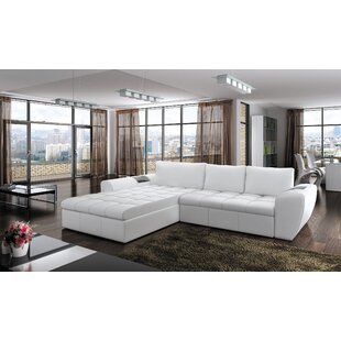 Orren Ellis Longoria Reversible Sleeper Sectional