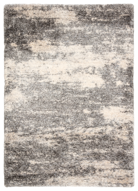 Blue Elephant Manhart Power Loom Grey Beige Rug Reviews Wayfair Co Uk