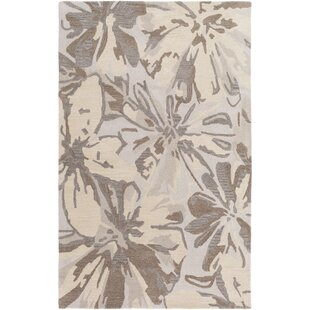 Millwood Hand-Tufted Beige Area Rug by Charlton Home