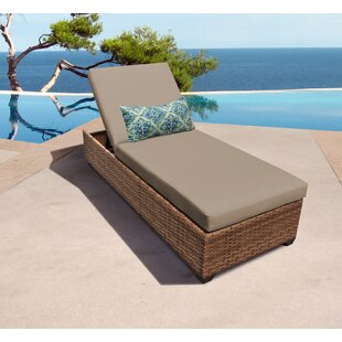 Medina Reclining Chaise Lounge with Cushion
