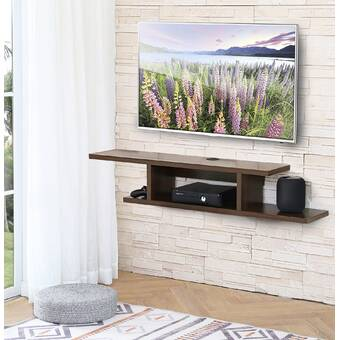 Mercury Row Allen Floating Tv Stand For Tvs Up To 55 Reviews Wayfair